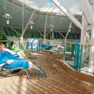 Rottal Terme - Ruhegarten im Therapiebad