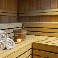 Bio-Sauna mit Farbwechsel